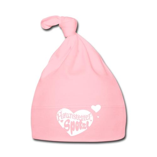 Baby Mütze rose | Haunstetter Spotzl - Baby Mütze