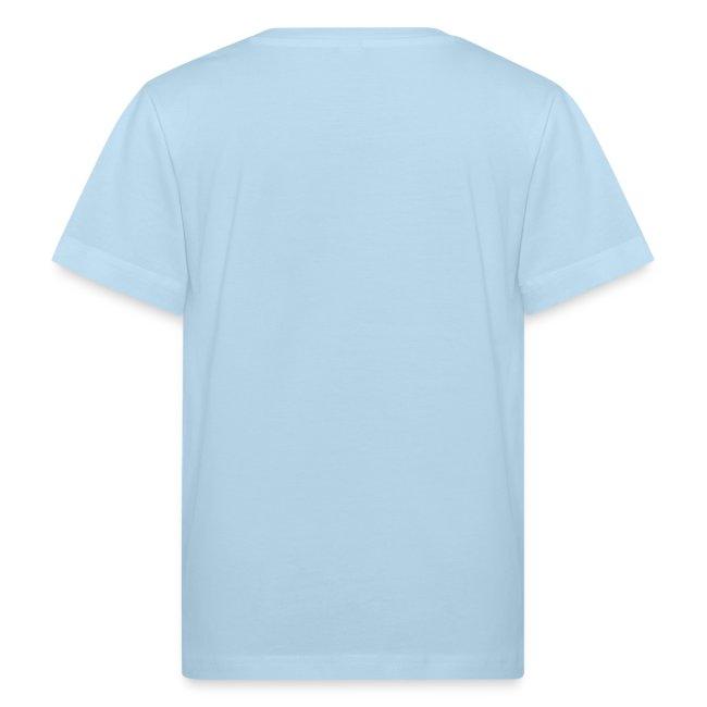 Kinder Bio Shirt skyblue | Haunstetter Spotzl | petrol
