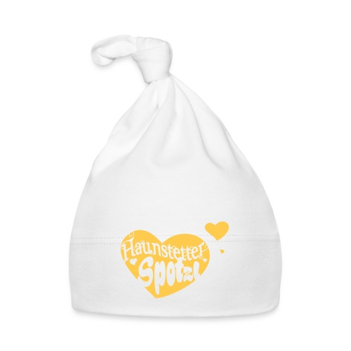Baby Mütze weiß | Haunstetter Spotzl | sun - Baby Mütze