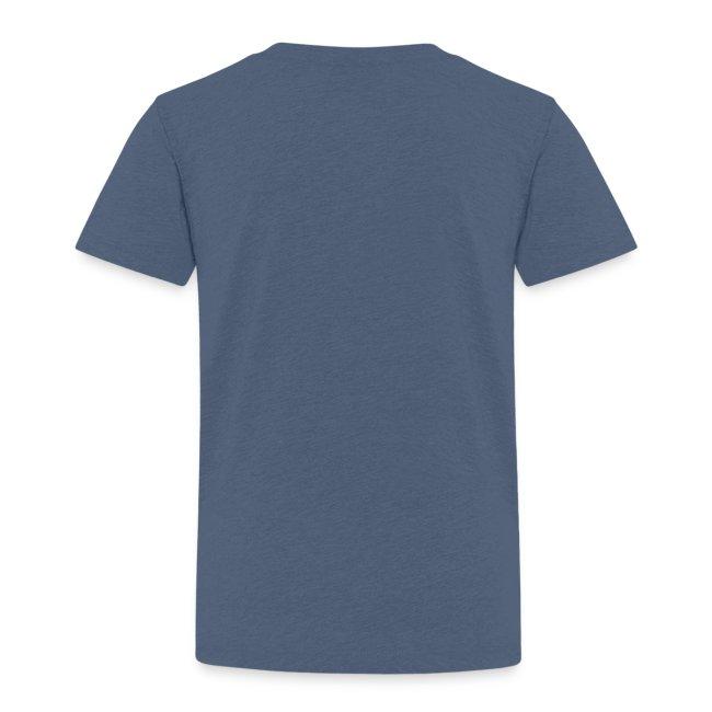 Kinder Shirt blau meliert | Haunstetter Spotzl | navi