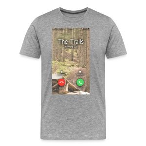 Trails are Caling - Statement - Männer Premium T-Shirt