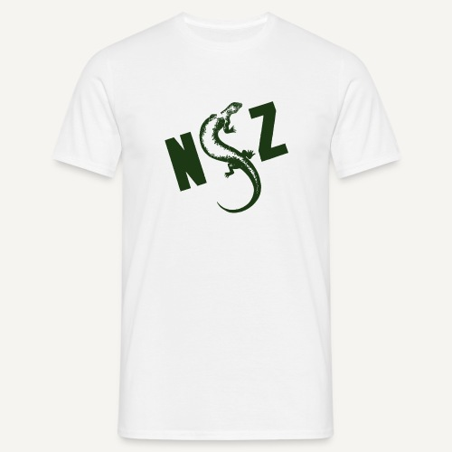 NSZ z jaszczurką - Koszulka męska