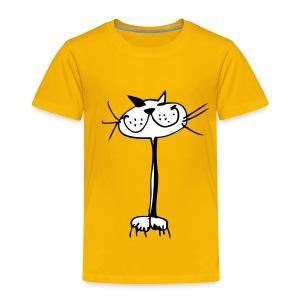 Kinder Katze Shirt - Kinder Premium T-Shirt