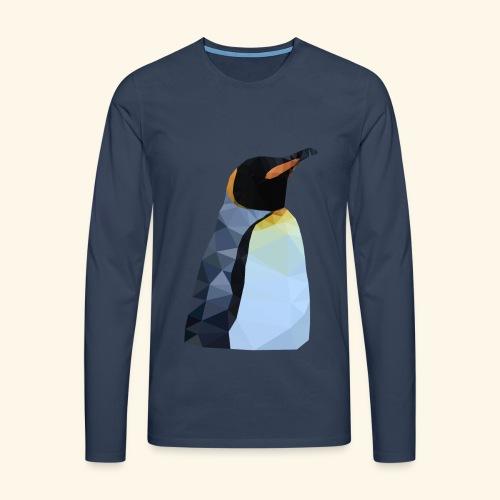Pingu Sweater blau - Männer Premium Langarmshirt