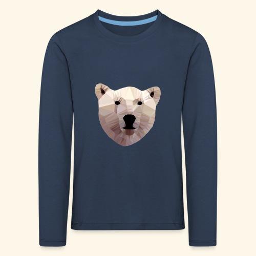 Kids Shirt Eisbär - Kinder Premium Langarmshirt