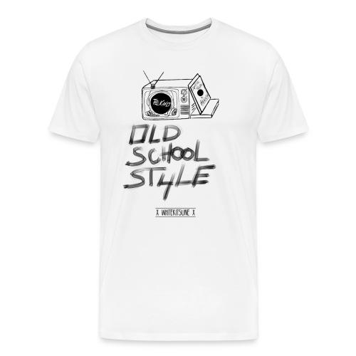 Tee Shirt Collab avec WhiteKitsune Homme Premium - T-shirt Premium Homme