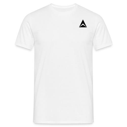 Abacus Men's Plain White T-Shirt  - Men's T-Shirt
