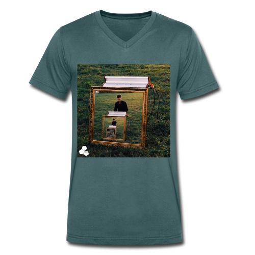 Hybrid Shirt - Men's Organic V-Neck T-Shirt by Stanley & Stella
