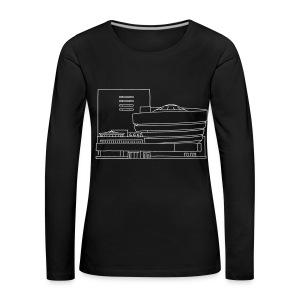 Guggenheim Museum NY - Frauen Premium Langarmshirt