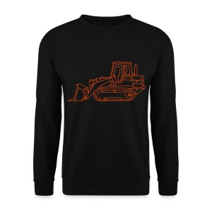 Bulldozer Planierraube (neon-orange) - Männer Pullover