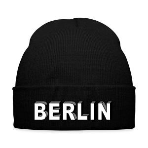 Berlin Block font Caps & Hats - Winter Hat