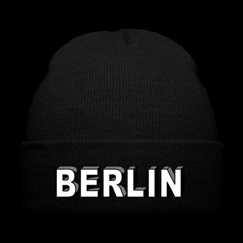 BERLIN Blockschrift - Wintermütze