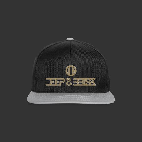 Black & Gold Cap - Casquette snapback
