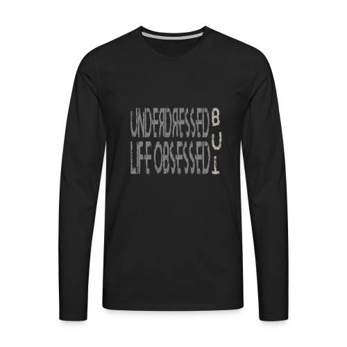 Underdressed m - Männer Premium Langarmshirt