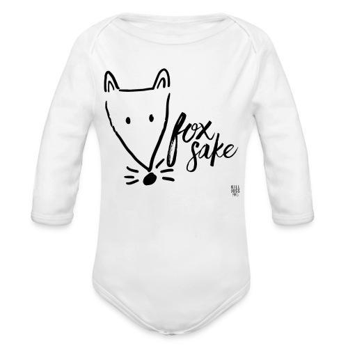 Foxsakespecial - Organic Longsleeve Baby Bodysuit