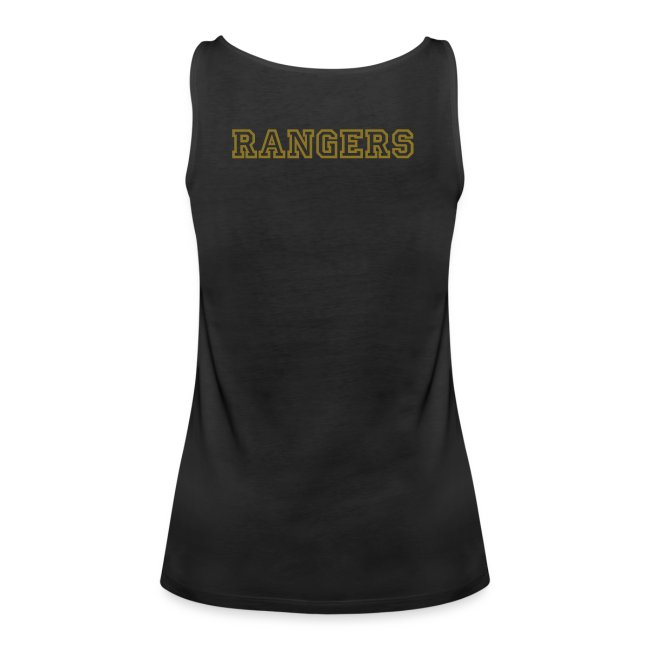 Rangers Ladies Tank-Top (Logo hinten)