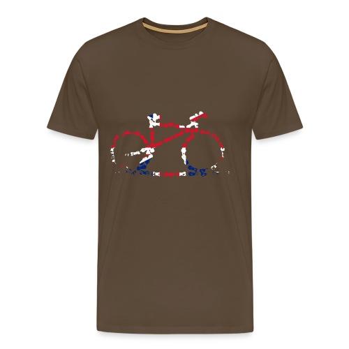 GB Cycling Chain Print Premium - Men's Premium T-Shirt
