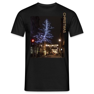 SILVER NEAR CHRISTMAS HERE - Men's T-Shirt