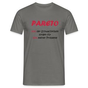 Das Shirt zum Pareto Prinzip - Männer T-Shirt