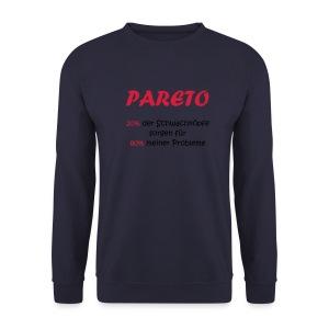Der Sweater zum Pareto Prinzip - Männer Pullover