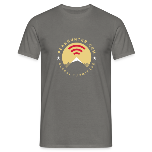 Peakhunter Global Summit Log Grey - Männer T-Shirt