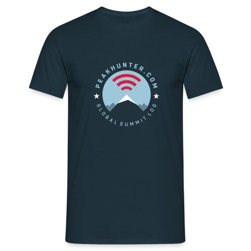 Peakhunter Global Summit Log Navy - Männer T-Shirt