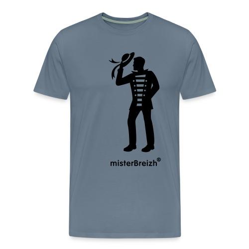 tshirt grand misterBreizh flex noir - T-shirt Premium Homme