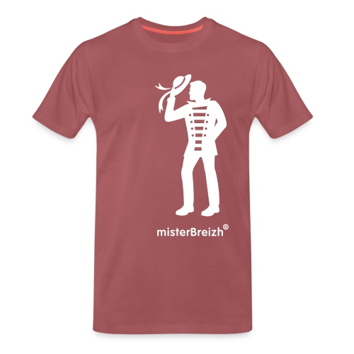 tshirt grand misterBreizh flex blanc - T-shirt Premium Homme
