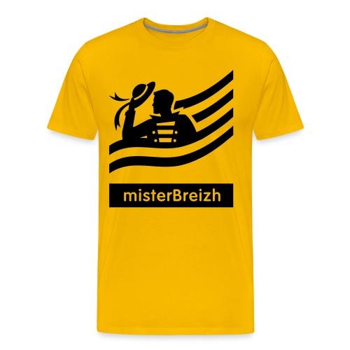 tshirt misterBreizh flex noir - T-shirt Premium Homme