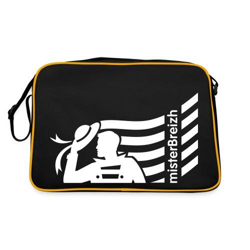 sac sport misterBreizh avec flex blanc  Recto verso - Sac Retro