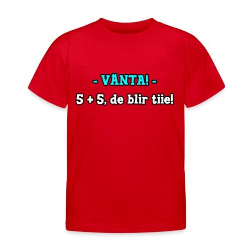 Citat från LP Online ep 393 - T-shirt barn