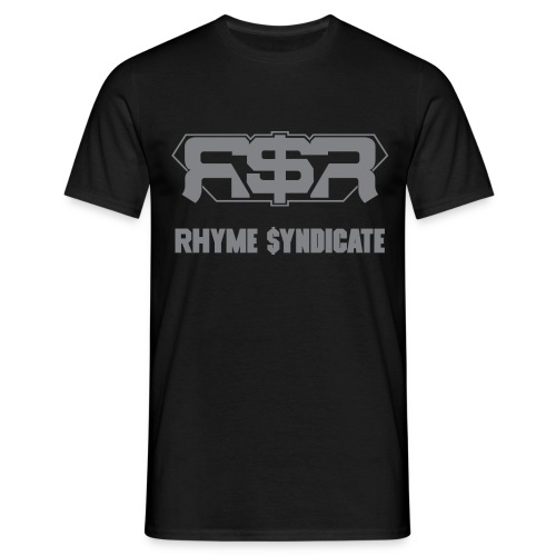 Rhyme Syndicate Records T - Men's T-Shirt