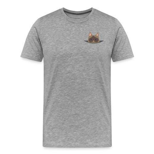 Men's Pocket Cat - Männer Premium T-Shirt