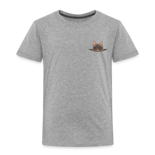 Kids' Pocket Cat - Kinder Premium T-Shirt