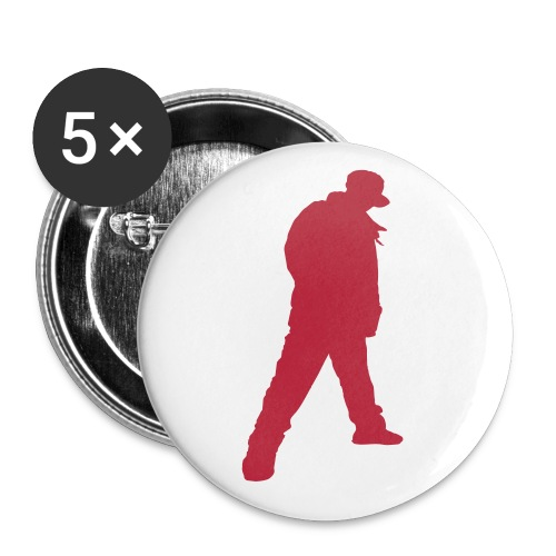 Soops B-Boy Button - Buttons small 1''/25 mm (5-pack)
