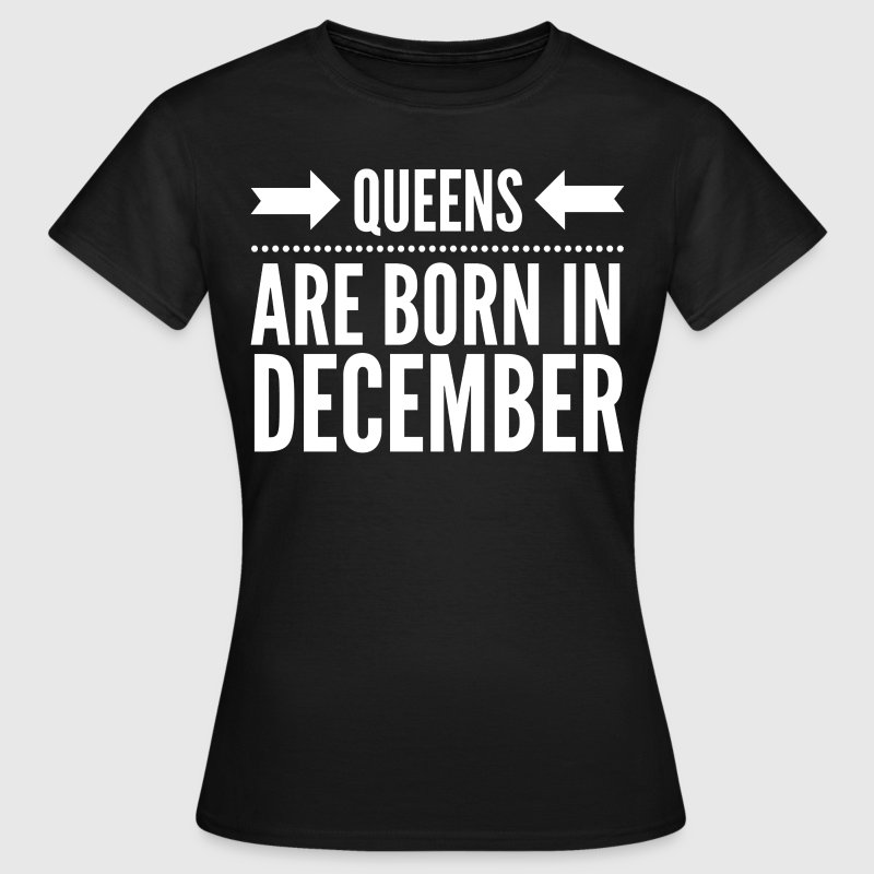Queens December Tee shirts - T-shirt Femme
