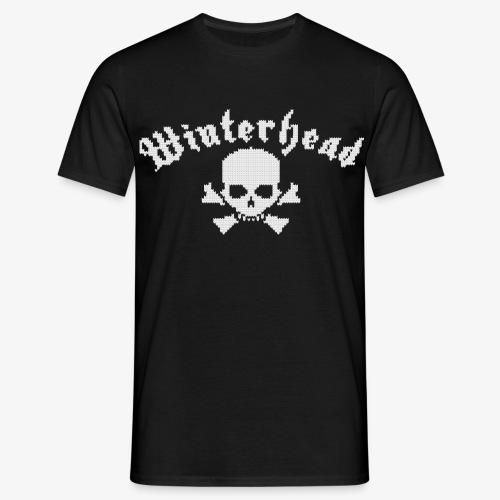Winterhead (Strick) - Männer T-Shirt