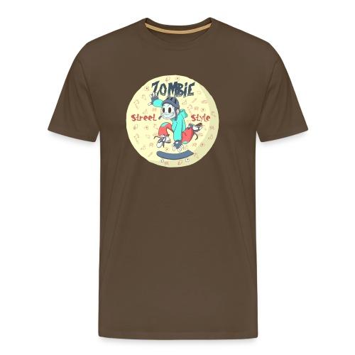 Zombie Street Style - Camiseta premium hombre