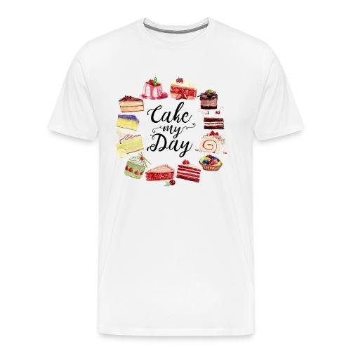 Cake My Day - Männer Premium T-Shirt
