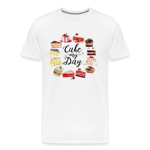Cake My Day - Männer Premium T-Shirt
