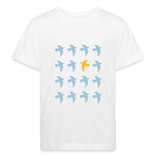 Bio Fair-T-Shirt mit Tauben (für Kinder) - Kinder Bio-T-Shirt