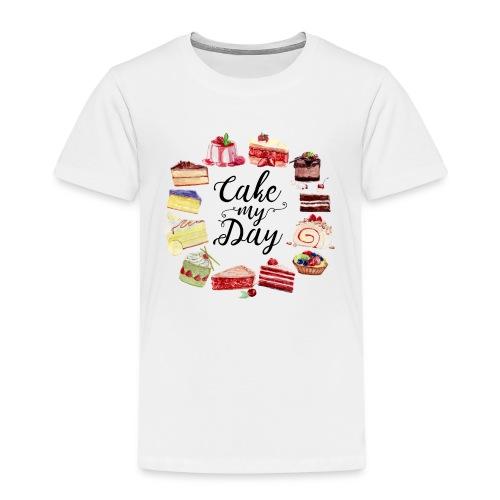 Cake My Day Kids - Kinder Premium T-Shirt