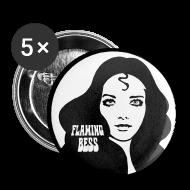 Buttons & Anstecker ~ Buttons klein 25 mm ~ Buttons FB Logohead
