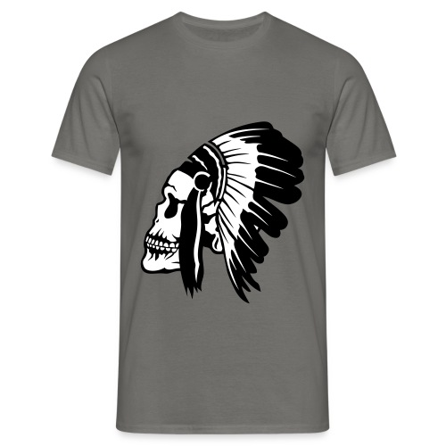 tete indienne - T-shirt Homme