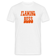 T-Shirts ~ Männer T-Shirt ~ FB Logo + Head orange