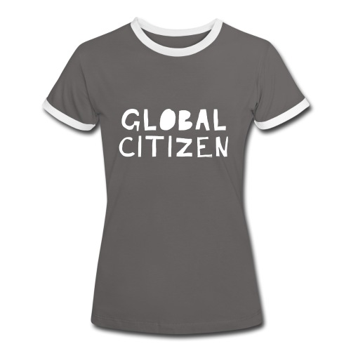 Women's Global Citizen - Frauen Kontrast-T-Shirt