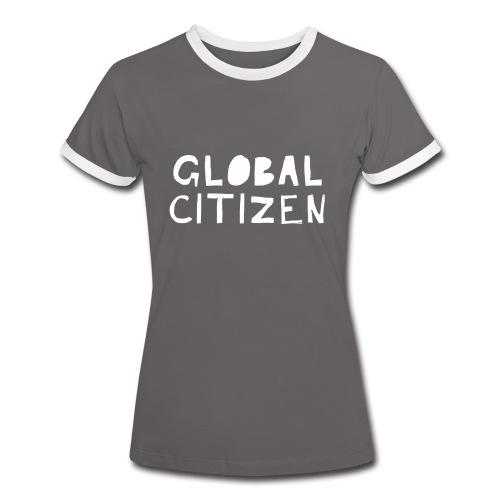 Women's Global Citizen - Frauen Kontrast-T-Shirt