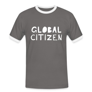 Men's Global Citizen - Männer Kontrast-T-Shirt