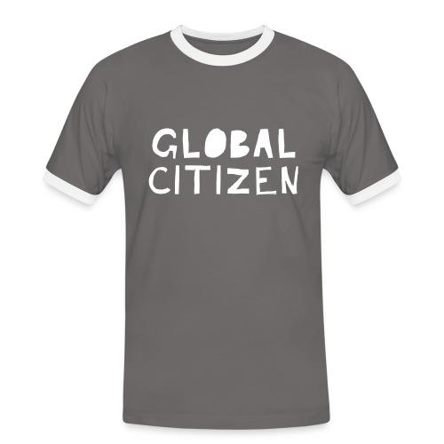 Men's Global Citizen - Männer Kontrast-T-Shirt
