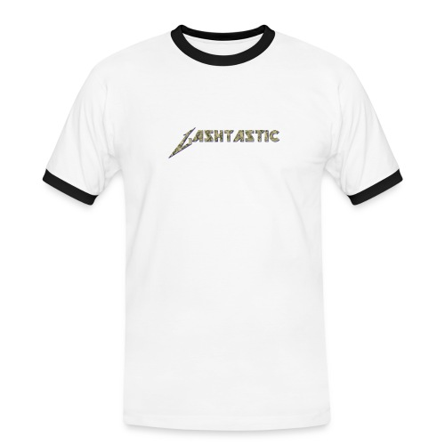Gashtastic Slogan Logo Mens - Men's Ringer Shirt